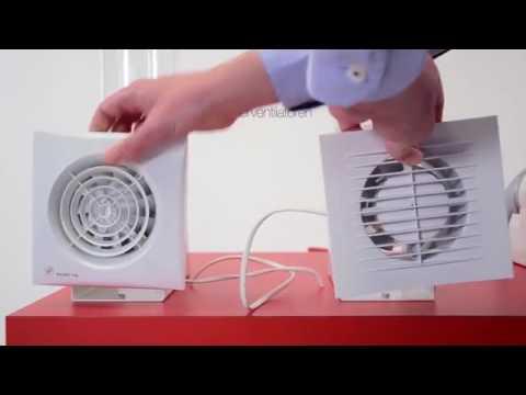 Badkamer ventilator die echt werkt van S&P - YouTube