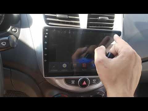 Hyundai Solaris Android автомагнитола