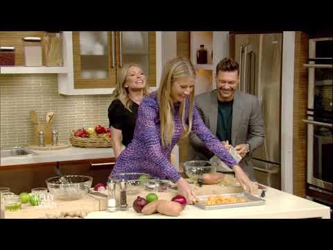 Gwyneth Platrow's Kale Sweet Potato Salad & Miso Dressing Recipe