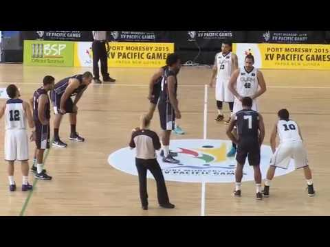Pacific Games 2015   D5 BBM GUAM vs FIJI