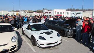 INSANELY LOUD Procharged 800HP Zo6 Corvette!
