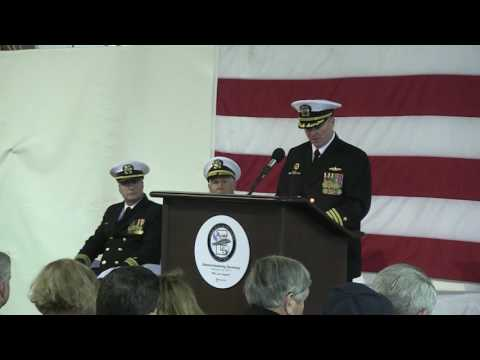 USS Enterprise Decommissioning Ceremony