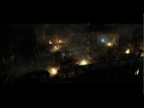 Harry Potter and the Deathly Hallows part 2  Courtyard battle part 2