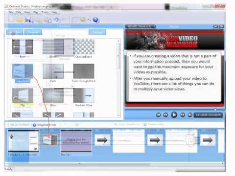 Online Manual Video Rewriting