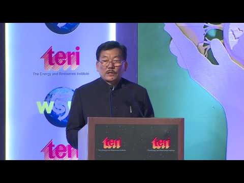 Special Address by Mr Pawan Chamling, Hon'ble Chief Minister of Sikkim