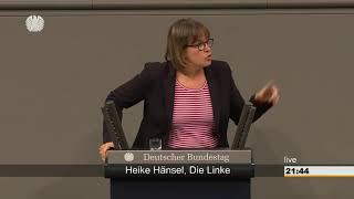 Heike Hänsel DIE LINKE - Bundesregierung tritt das Völkerrecht mit Füßen