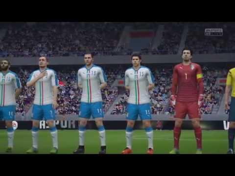 fifa 16 Italy vs France