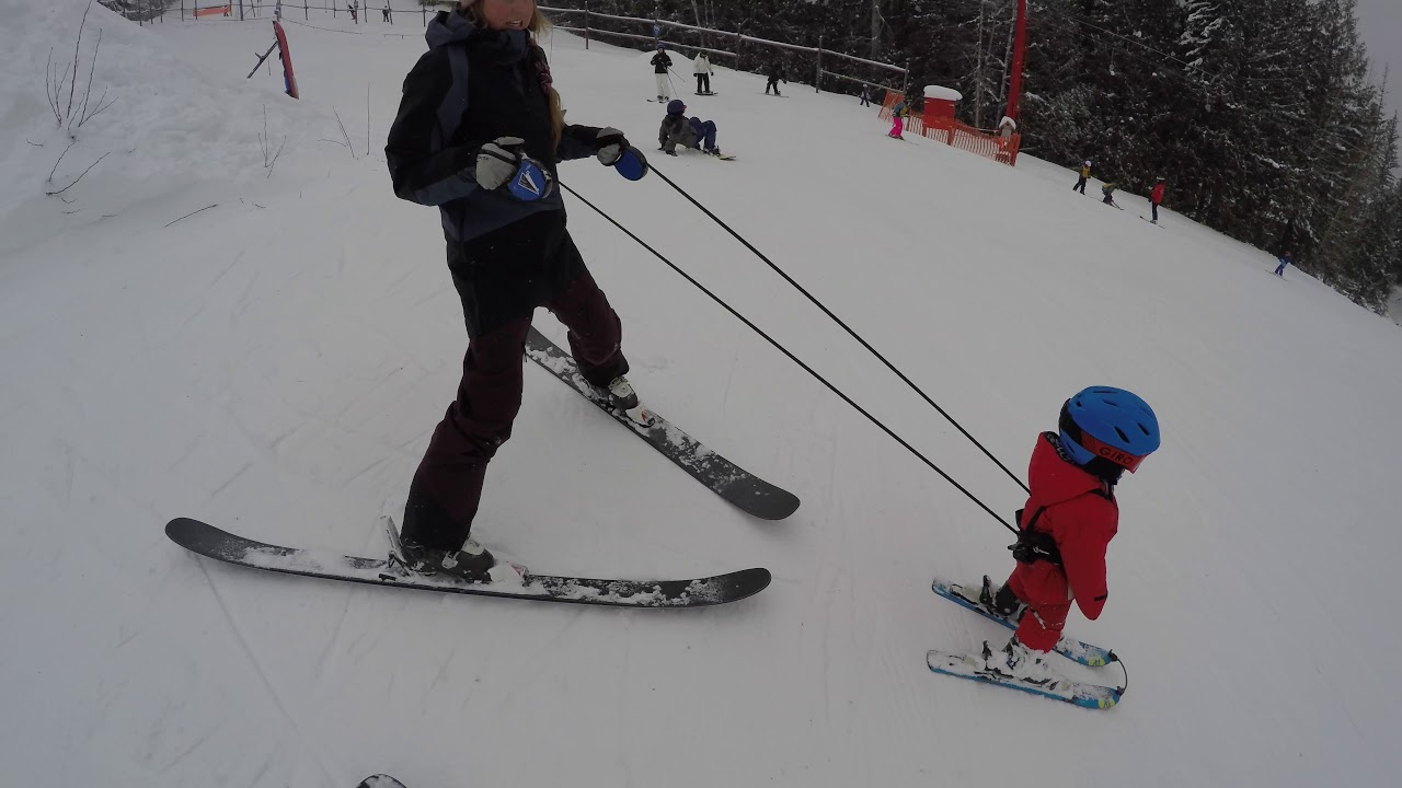 How To Teach Your Toddler / Kid To Ski  - Tips and Tricks with the Treadway's
