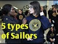 The 5 types of Females in the Navy