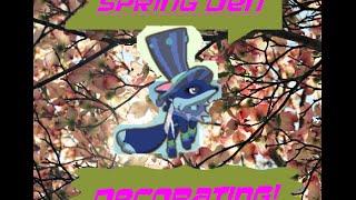 SPRING IS HERE! | AJ Speed Den Decoration