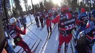 Николов Пересвет Russialoppet  34 км 18.01.2020
