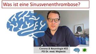 Was ist eine sinusvenenthrombose?