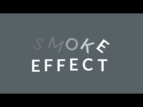 Smoke Effect using html & css | with source code thumbnail