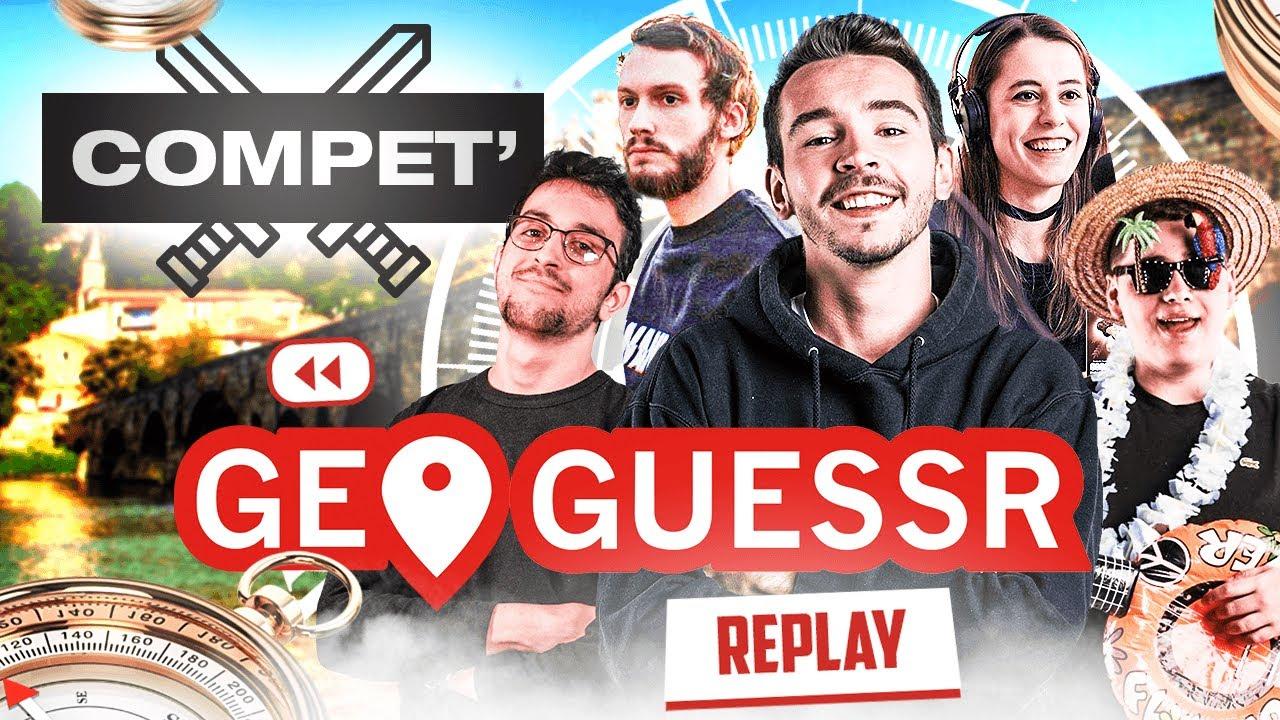 Compétition sur GeoGuessr contre Laink, Kameto, AngleDroit & Etoiles !
