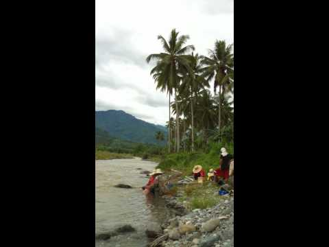 Gold Mining In Mindanao Philippines part 1