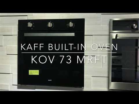 KAFF Built-In Ovens KOV 73 MRFT | Product Instructional Guide