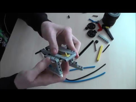 Lego Technic Pneumatic Motor | Speed Build | Peter Pan