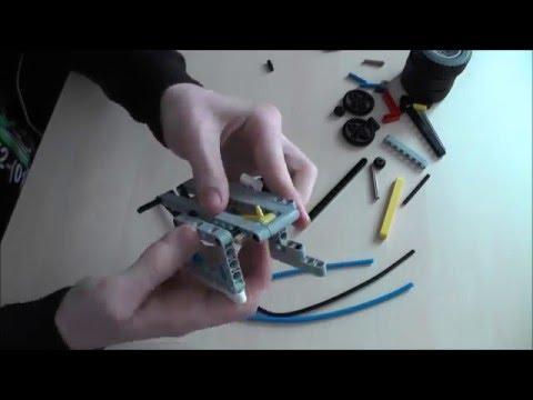 Lego Technic Pneumatic Motor | Speed Build | Peter Pan