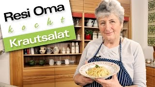 Resi Oma kocht - Krautsalat