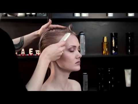 Stylist & Short Hair cut  for women - How to Cut Short Hair with Dyachenko Irina