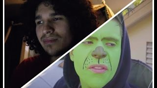 Reacting to Rudy Mancuso's Señor Grinch video and other adventures!!