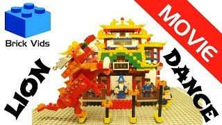 Video Lego Lion Dance - Lego Dragon Dance - Lego Barongsai - Asian Chinese Toy Dance 2018 download MP3, 3GP, MP4, WEBM, AVI, FLV November 2018