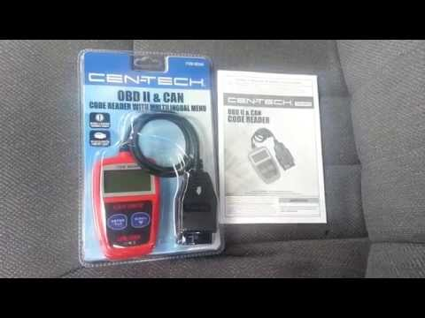 Cen-Tech OBD II Code Reader review/showcase