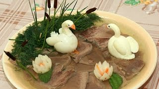 Красивое оформление блюд, нарезка,салаты,канапе, красиво и быстро.