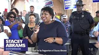 Stacey Abrams Early Voting Rally