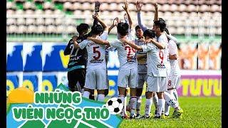 ''Siêu nhân'' Gia Huy lập cú đúp, khóa 4 JMG thắng FC Tây Nguyên Xanh 13 -1 | HAGL Media