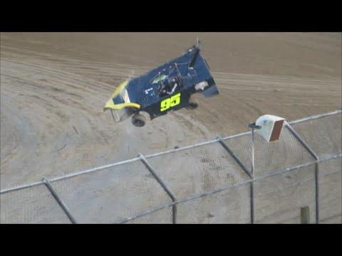 T.Q. Late Model rolls hard at Bubba Raceway Park    8-13-16