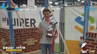 Winnaar metselwedstrijd Bouw- en Inframensen