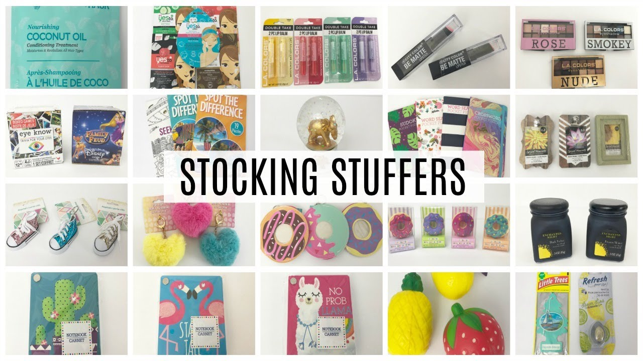 125 DOLLAR TREE STOCKING STUFFER IDEAS!!