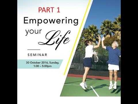 30 Oct - Empowering Your Life - Diabetes and Nocturia Part 1/4
