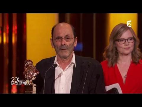 Molière du Comédien (Théâtre Privé): Jean-Pierre Bacri - Molières 2017