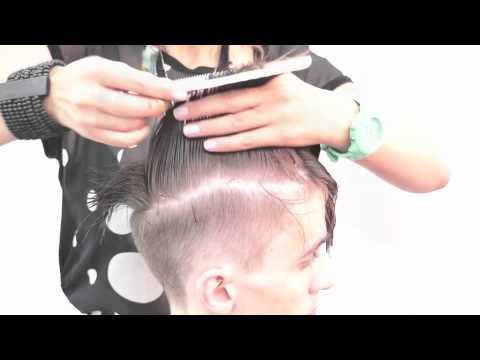 Мужская стрижка. Mens haircut