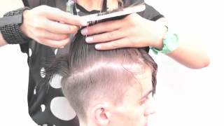 Мужская стрижка. Men's haircut