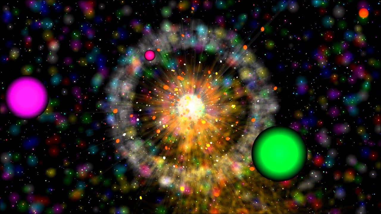 3D HD Supernova Exploding Star Simulation Animation ...