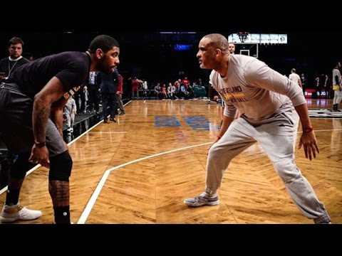 Kyrie Irving Warm Up Routine With Phil Handy