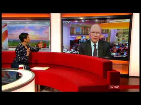 Niall Dickson speaks on the need to cut NHS compensation costs | BBC Breakfast