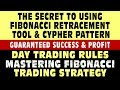 SECRET to using Fibonacci Retracement Tool & CYPHER PATTERN. Mastering Fibonacci Trading Strategy