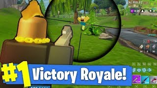 LONGEST SNIPER SHOT FOR A VICTORY? - ROBLOX FORTNITE BATTLE ROYALE (ISLAND ROYALE) #3