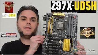 Gigabyte GA Z97X UD5H Motherboard Unboxing and Overview