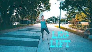 the Leg Lift - 2 min HOOP tutorial