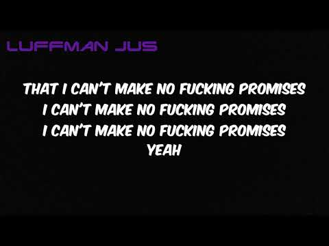A BOOGIE WIT DA HOODIE- No Promises Lyrics (Official Lyrics) (Official Audio)