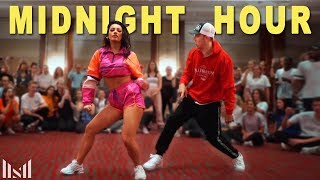 MIDNIGHT HOUR - Skrillex ft Ty Dolla $ign Dance Choreography & Tour Vlog (2019)