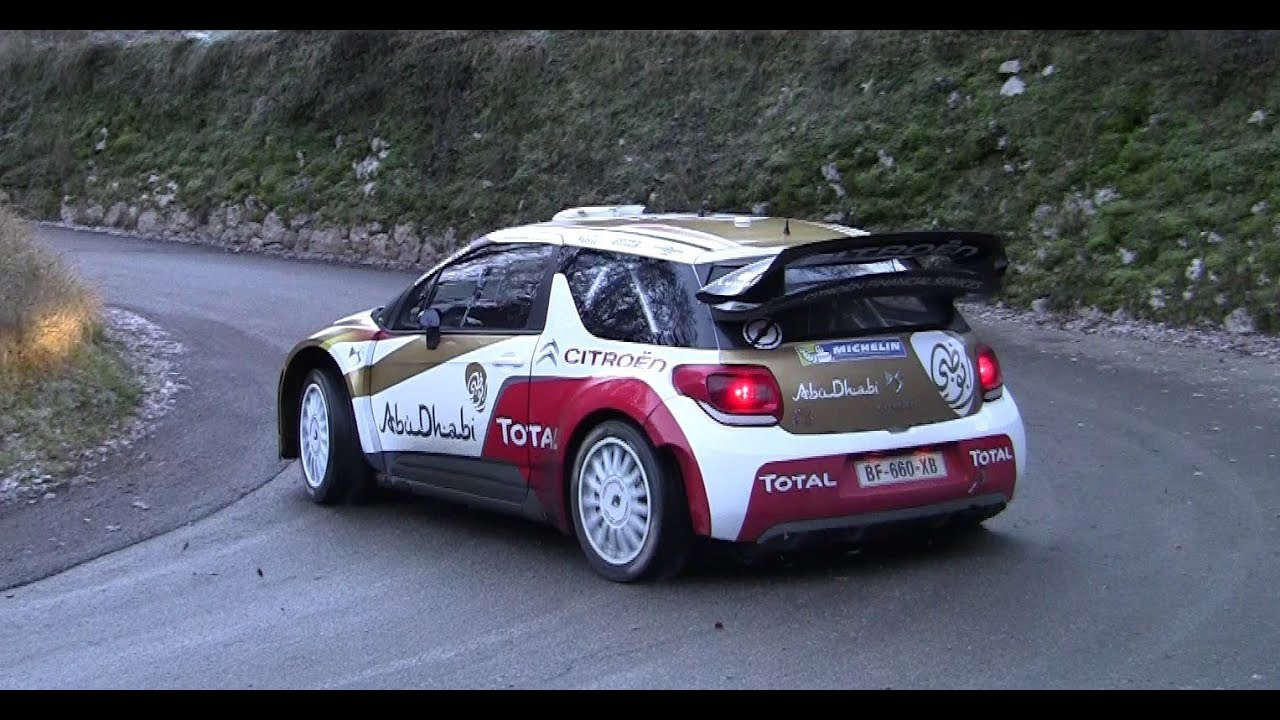 Voiture Monte Carlo >> TEST Monte Carlo 2014 Kris Meeke Citroen DS3 WRC Day 2 PURE SOUND HD - YouTube