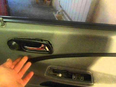 Как быстро снять обшивку двери автомобиля ШЕВРОЛЕ ЛАЧЕТТИ!