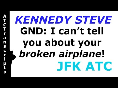 KENNEDY STEVE: I'M THE GROUND CONTROLLER!