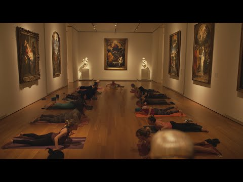 Would You Take Yoga in a Museum? | Pumped